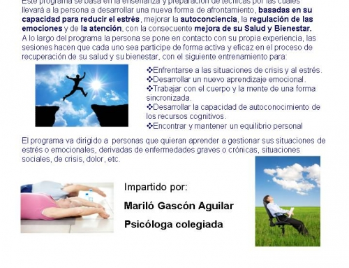 CONFERENCIA SOBRE MINDFULNESS. SEVILLA 9 ABRIL