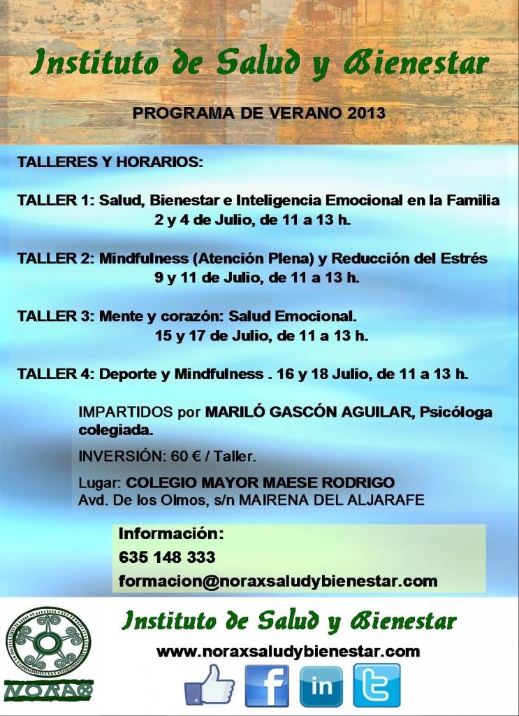 TALLERES DE VERANO