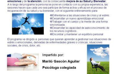 PROGRAMA DE REDUCCIÓN DEL ESTRÉS BASADO EN LA ATENCIÓN PLENA