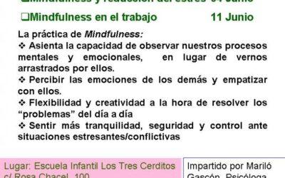 TALLERES DE MINDFULNESS PARA PADRES Y MADRES MAYO Y JUNIO 2014